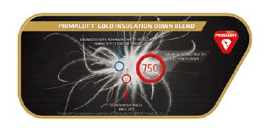 PRIMALOFT GOLD INSULATION DOWN BLEND
